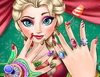 Elsa 2015 Yeni Yıl Manikürü