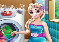 Elsa Çamaşır Yıkama Günü