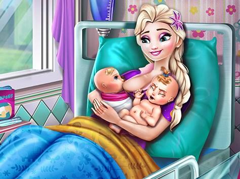 Elsa Doğum Yapıyor