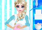 Elsa ile Bulaşık Yıkama