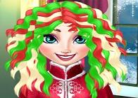 Elsa Yeniyıl Saç Tasarımı