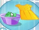 Emma Bebek ile Çamaşır Yıkama