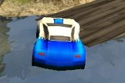 Ferrari ile 3D Arazi Yarışı
