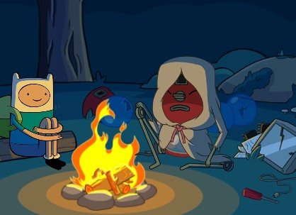 Finn Jake Kamp Macerası