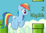 Flappy Little Pony - 2 Kişilik