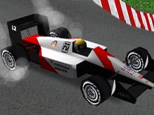 Formula 1 Yarışçısı 3D