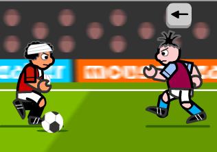 Forvet Oyuncusu ile Gol At