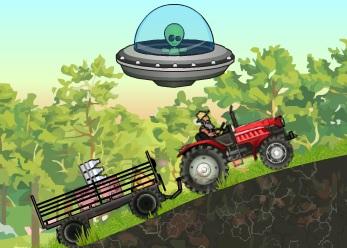 Gerçek Traktörle Yük Taşıma  - Geliştirmeli