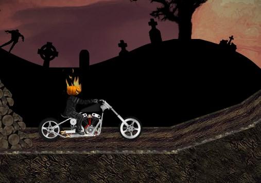 Hallowen Motorcusu