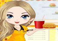 Hamburgerci Kız