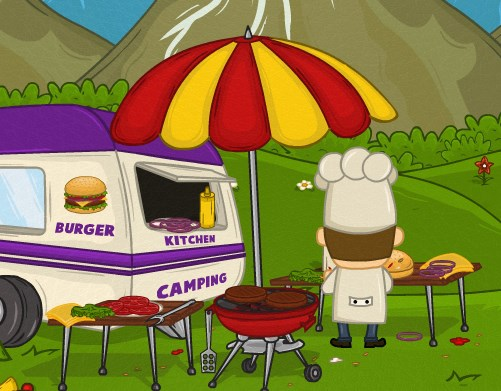 Hamburgerci Şef
