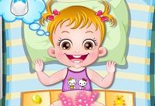 Hazel Bebeğin Altını Değiştirme