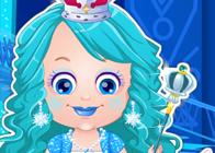 Hazel Bebek Buz Prensesi Kıyafetleri