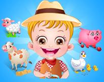 Hazel Bebek Çiftlik Gezisi