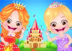 Hazel Bebek Prenses Kıyafetleri Giydirme