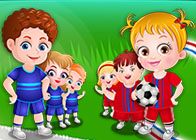 Hazel Bebek Spor Yapıyor