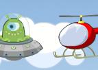 Helikopter ve Ufo - Geliştirmeli