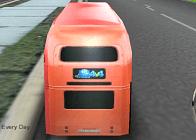 İki Katlı Otobüs Yarışı
