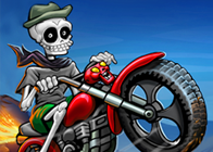 İskelet Kafalı Motorcu