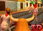 İspanya Boğa Koşusu 3D