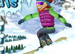 Karlı Dağda Snowboard (Türkçe)