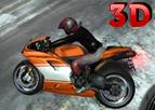 Karlı Yol Motoru 3D