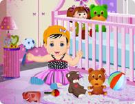 Kız Bebek Oda Dekorasyonu