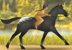 Kızılderili Gerçek At Yarışı