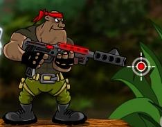 Komando ile Ormanda Savaş