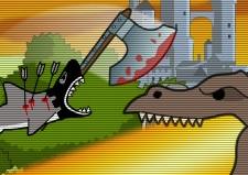 Köpek Balığı ile Kasabaya Saldır