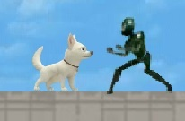 Köpek Bolt ile Koş