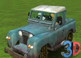 Koyun Shaun Lamb Rover 4x4 3D