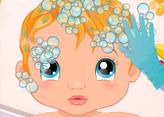 Kraliyet Bebeğini Yıka ve Giydir