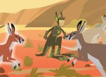 Kratt Kardeşler Kanguru Dövüşünde