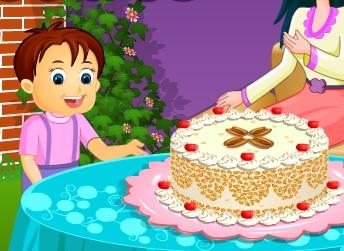 Kremalı Kek Yapma