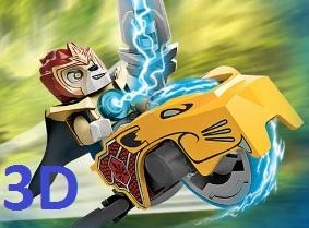 Lego Chima Speedorz Yarışı - Unity 3D