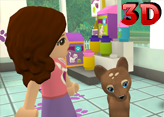 Lego Friends Pet Salon - 3D Hayvan Bakma