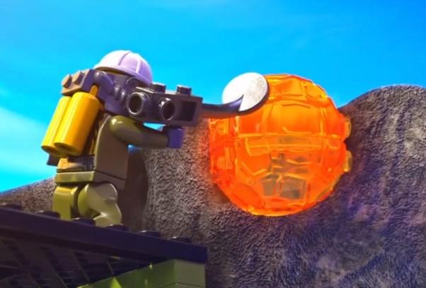 Lego Volkanı