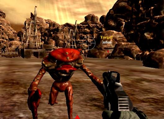 Mars Uzaylı Saldırısı