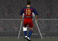 Messi Sakatlandı