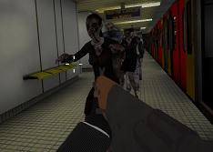 Metroda Zombi Saldırısı 3D