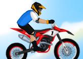 Motocross Mücadelesi - Geliştirmeli