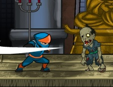 Ninjalar Zombilere Karşı 2 (Geliştirmeli)
