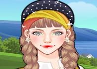 Norveçli Kız Makyajı