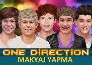 One Direction Giydir ve Makyaj Yap