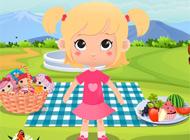 Pembe Bebeğin Piknik Günü