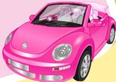 Pembe Beetle Arabayı Temizle