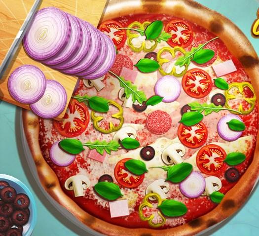 Pizza Pişirme