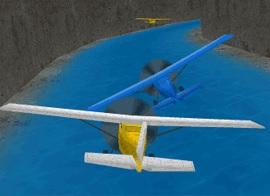 Planör Uçak Yarışı 3D - Geliştirmeli