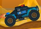 Polis Arabası Dağ Yolunda